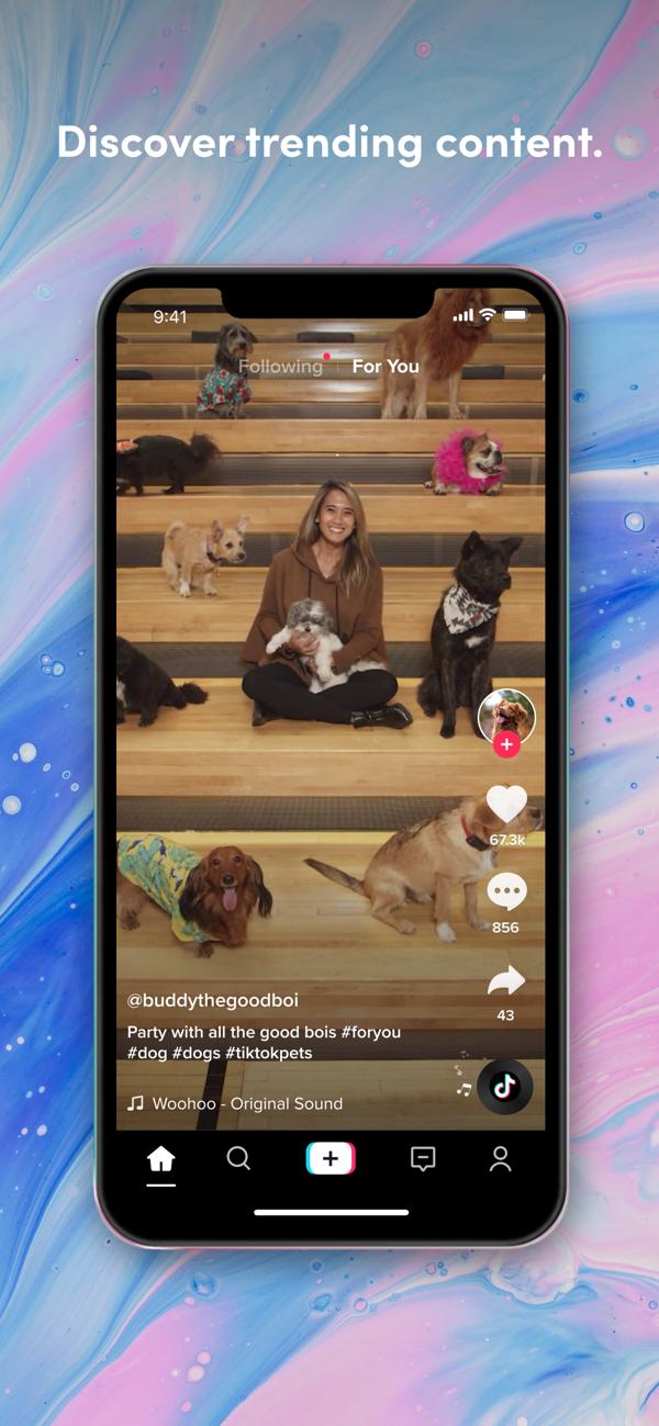 Tiktok Trends Start Here On The App Store In 2020 Singing Videos Mobile Video Charlie Video
