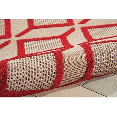 Langley Street Taschen Geometric Red