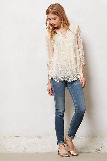 peasant blouse outfit2. Peasant Blouse Outfits -12 Cute Ways to Wear  Peasant Tops ... 1de0ea08e