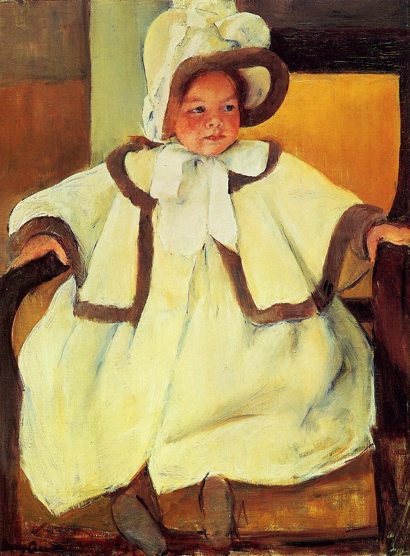 The Athenaeum - Ellen Mary Cassatt in a White Coat (Mary Cassatt - )
