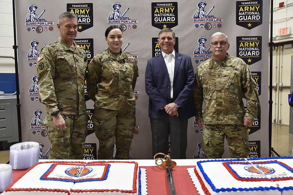 Military Department Celebrates National Guard Birthday