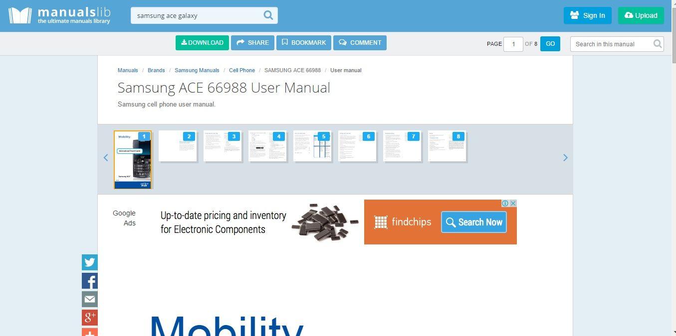 Descargar gratis ManualsLib: El mayor buscador de manuales online | Banana-Soft.com