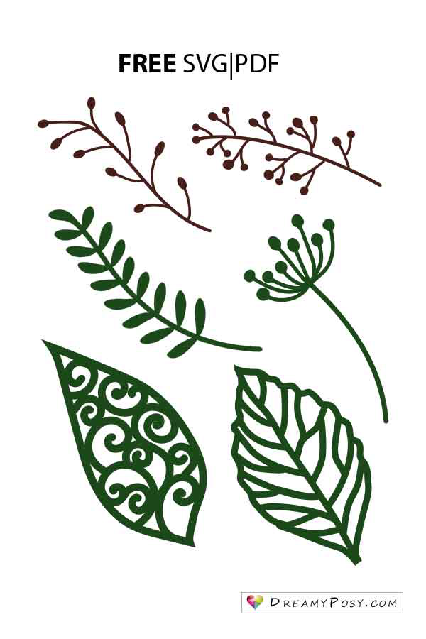 Leaves templates - DreamyPosy templates