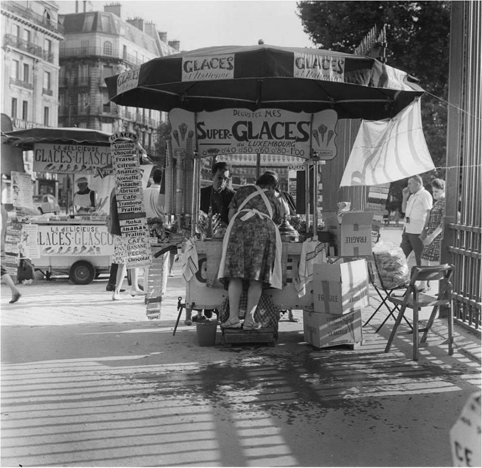 Aux Super Glaces Du Luxembourg En 1965 L Envers Du Decor