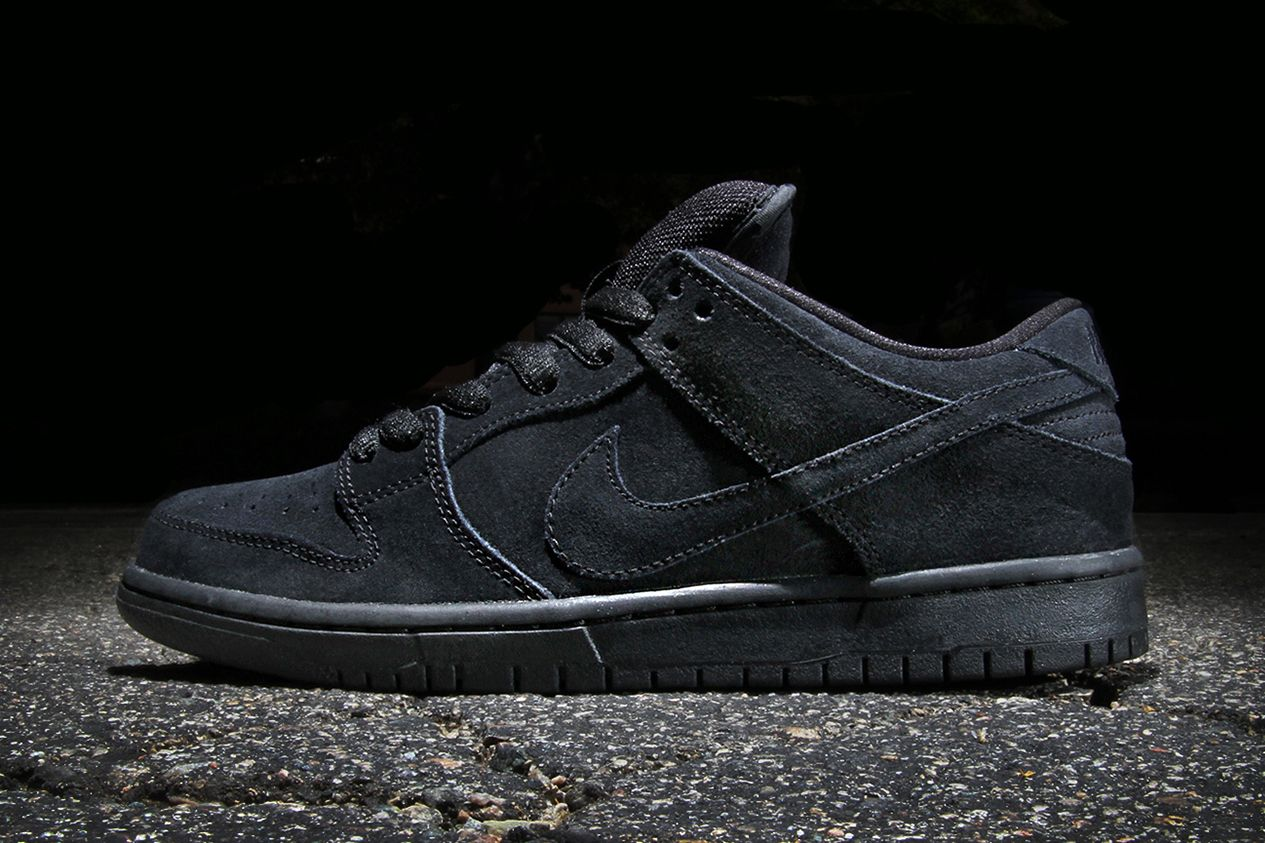 new arrival 203f3 2f5d7 Nike SB Dunk Low Pro Black/Black | 3P - Properly Produced ...