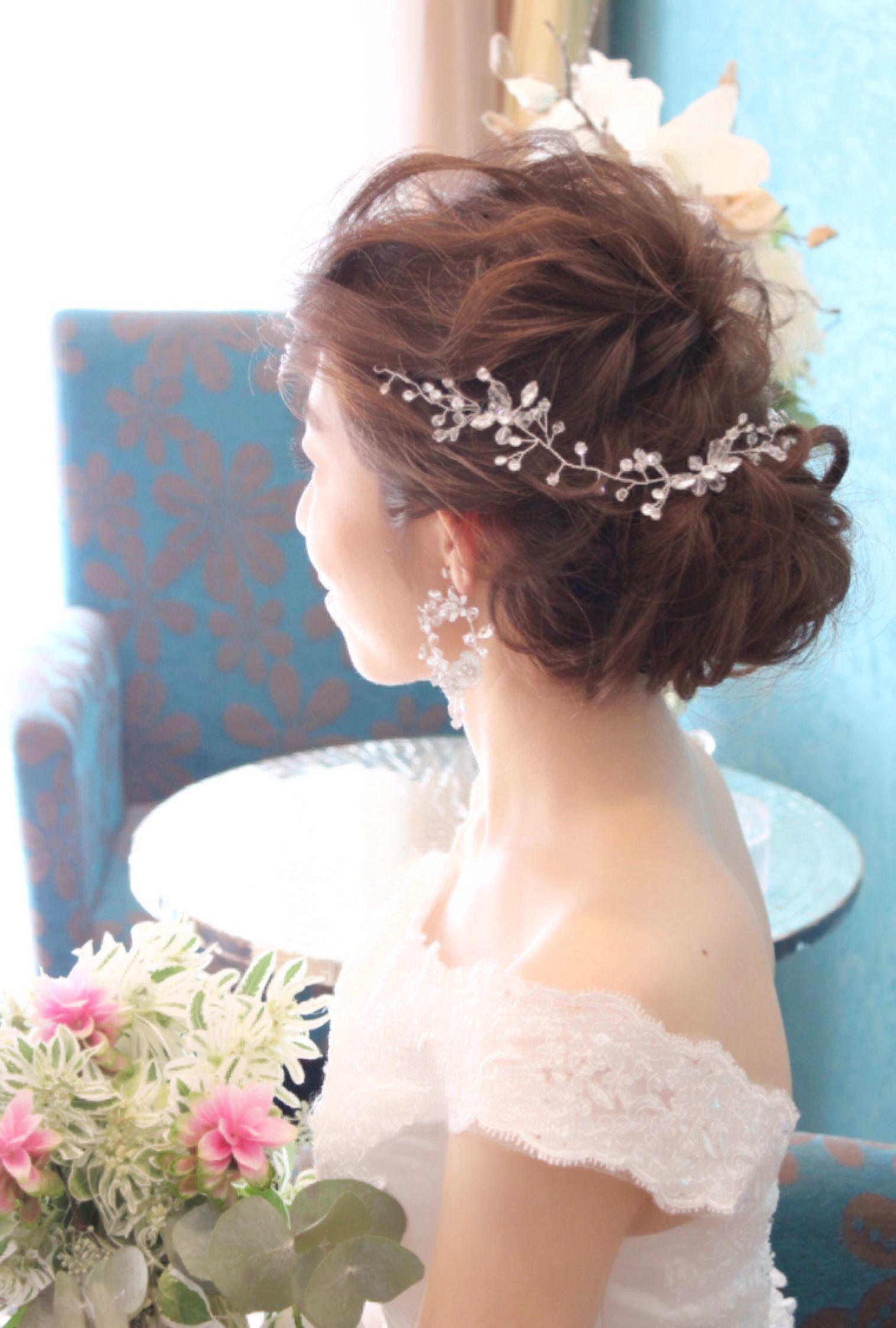 La Sumire ウェディングヘアスタイル ブライダルヘア ウェディング
