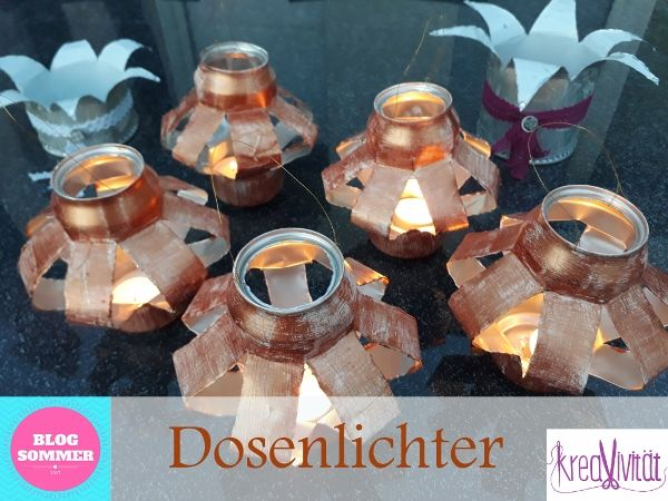 Dosenlichter Upcycling