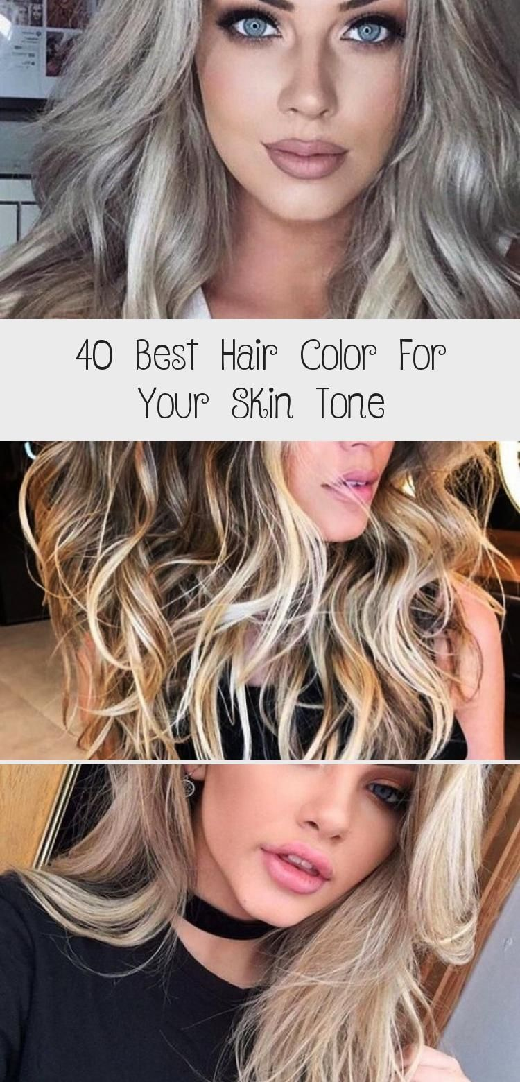 40 Best Hair Color For Your Skin Tone In 2020 Cool Hair Color Cool Hairstyles Cool Blonde Balayage