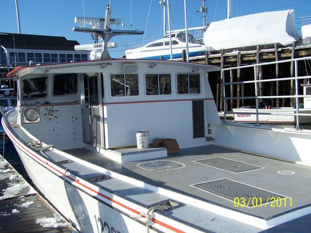 44 Calvin Beal Jill Cayden Aluminum Boat Fishing Boats Lobster Boat