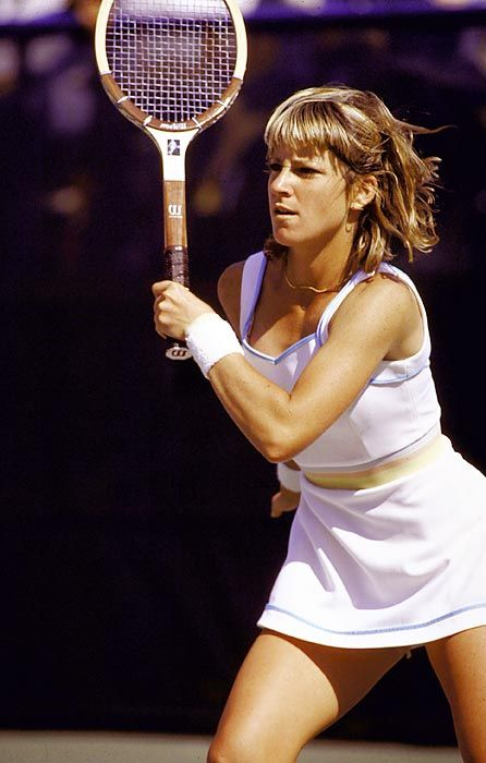 Chris Evert In Her Heyday World Of Tennis Pinterest Yahoo