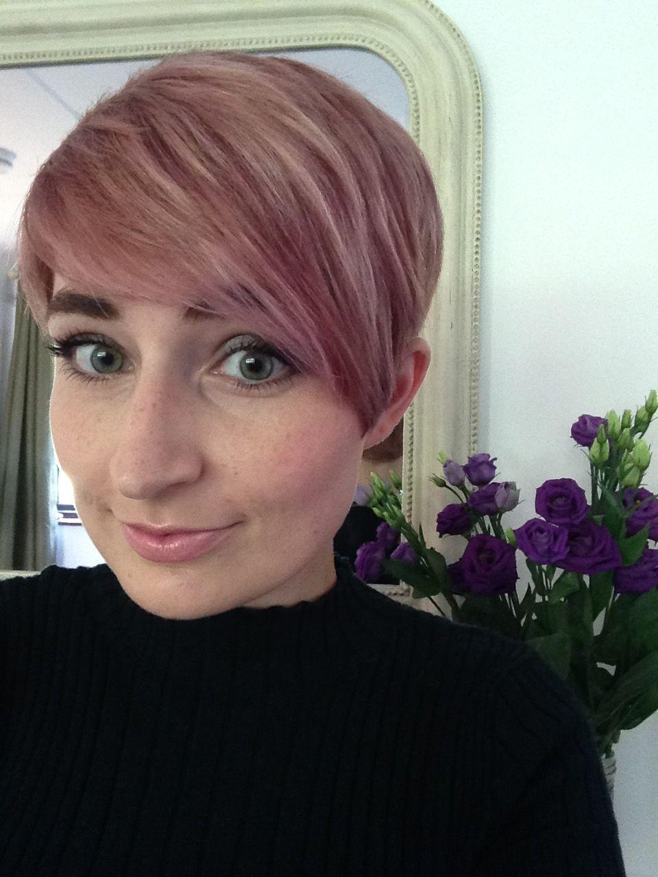 Rose gold pixie cut facebook pinterest hair short hair styles