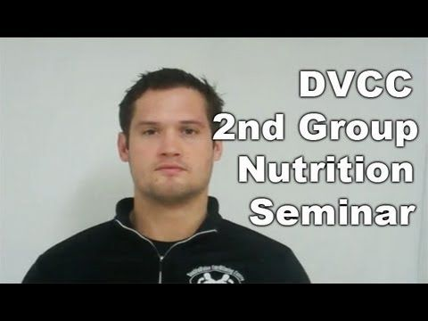 DVCC 2nd Group Nutrition Seminar