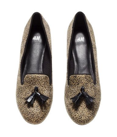 Patterned Loafers | H&M US $30