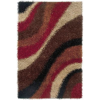 """The Conestoga Trading Co. Hand-Tufted Area Rug Rug Size: 3'6"""" x 5'6"""""""