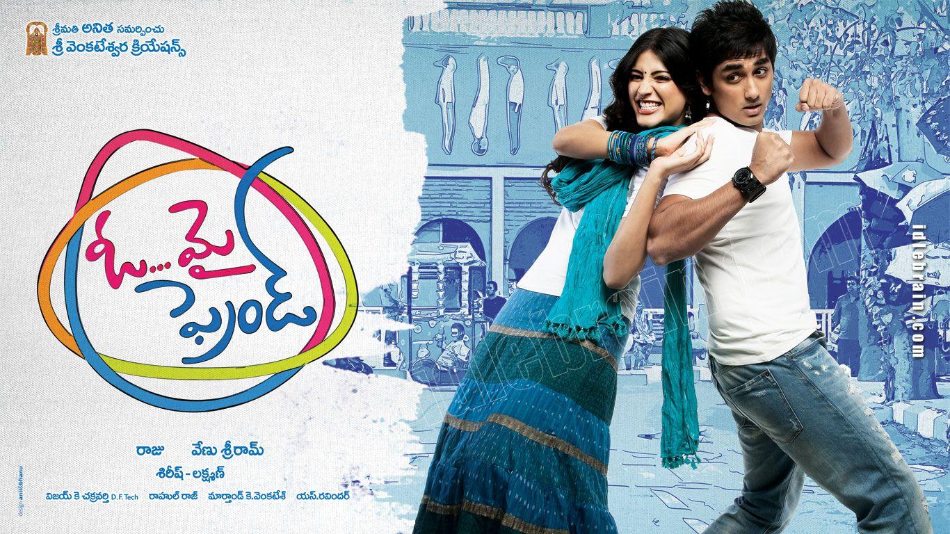 Oh My Friend Telugu Film Wallpapers Telugu Cinema Siddharth