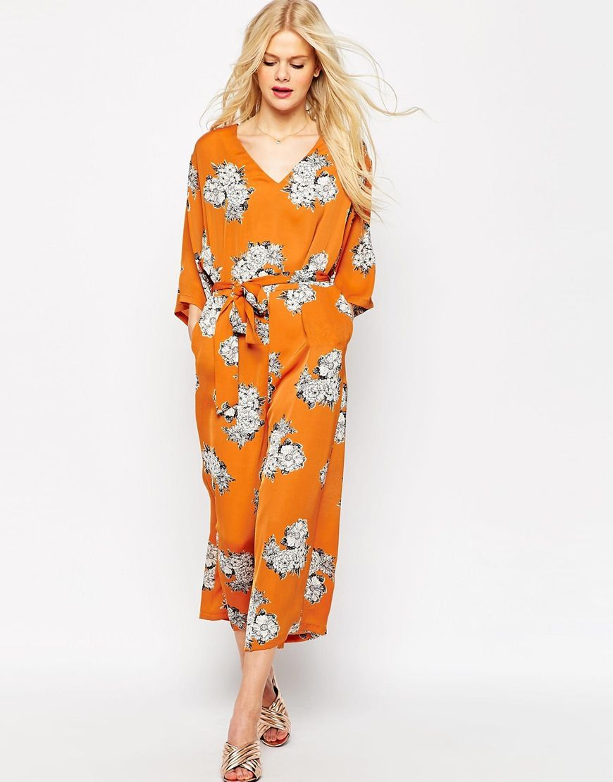 Robe kimono mi-longue avec fente - MultiAsos Sortie 100% Original Où Acheter Jeu En Ligne Amazon Faux Prix Pas Cher ye3HIMr