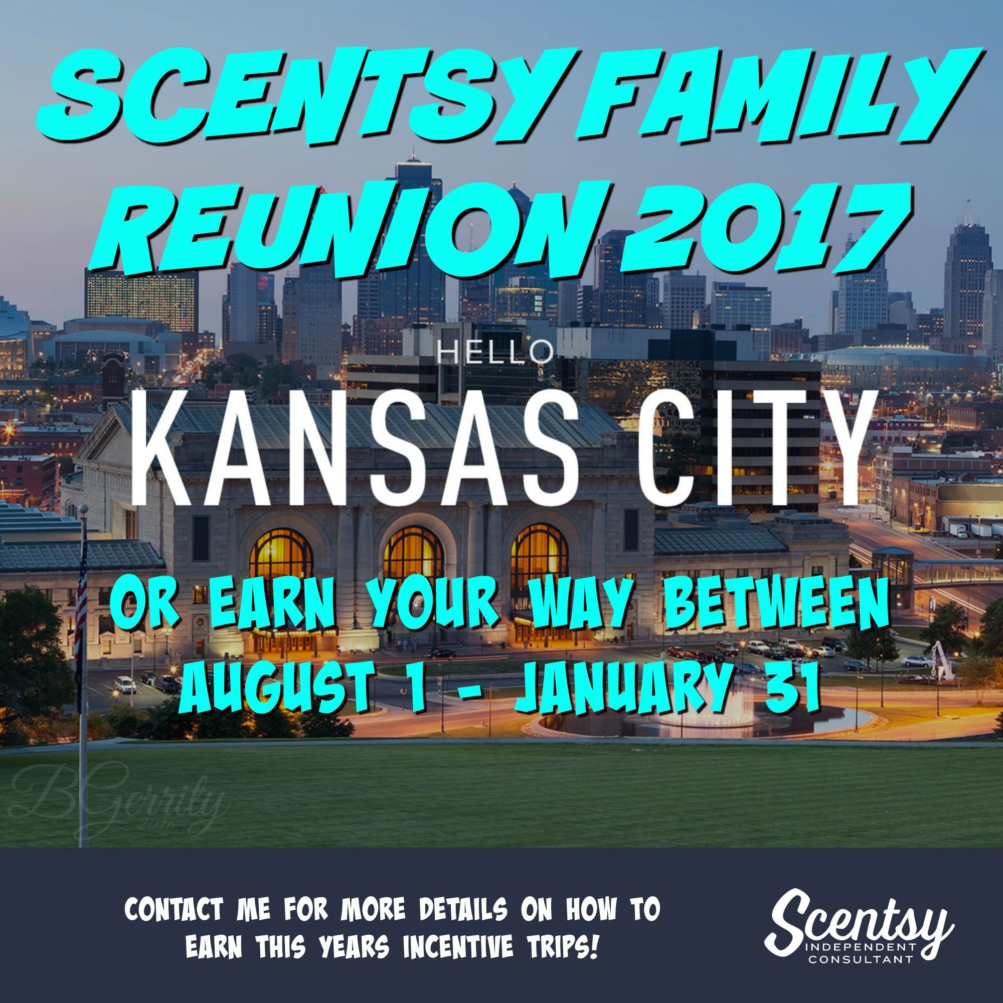 Scentsy Incentive Scentsy Family Reunion 2017 Kansas City SFR2017 ...