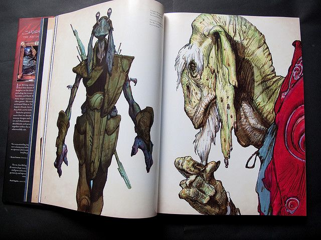 Shadowline: The Art of Iain McCaig by Parka81, via Flickr