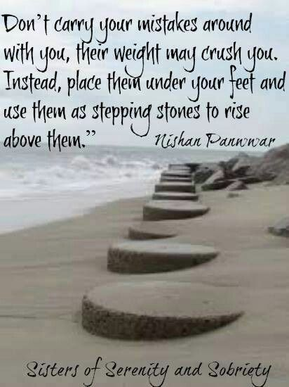 Stepping stones...