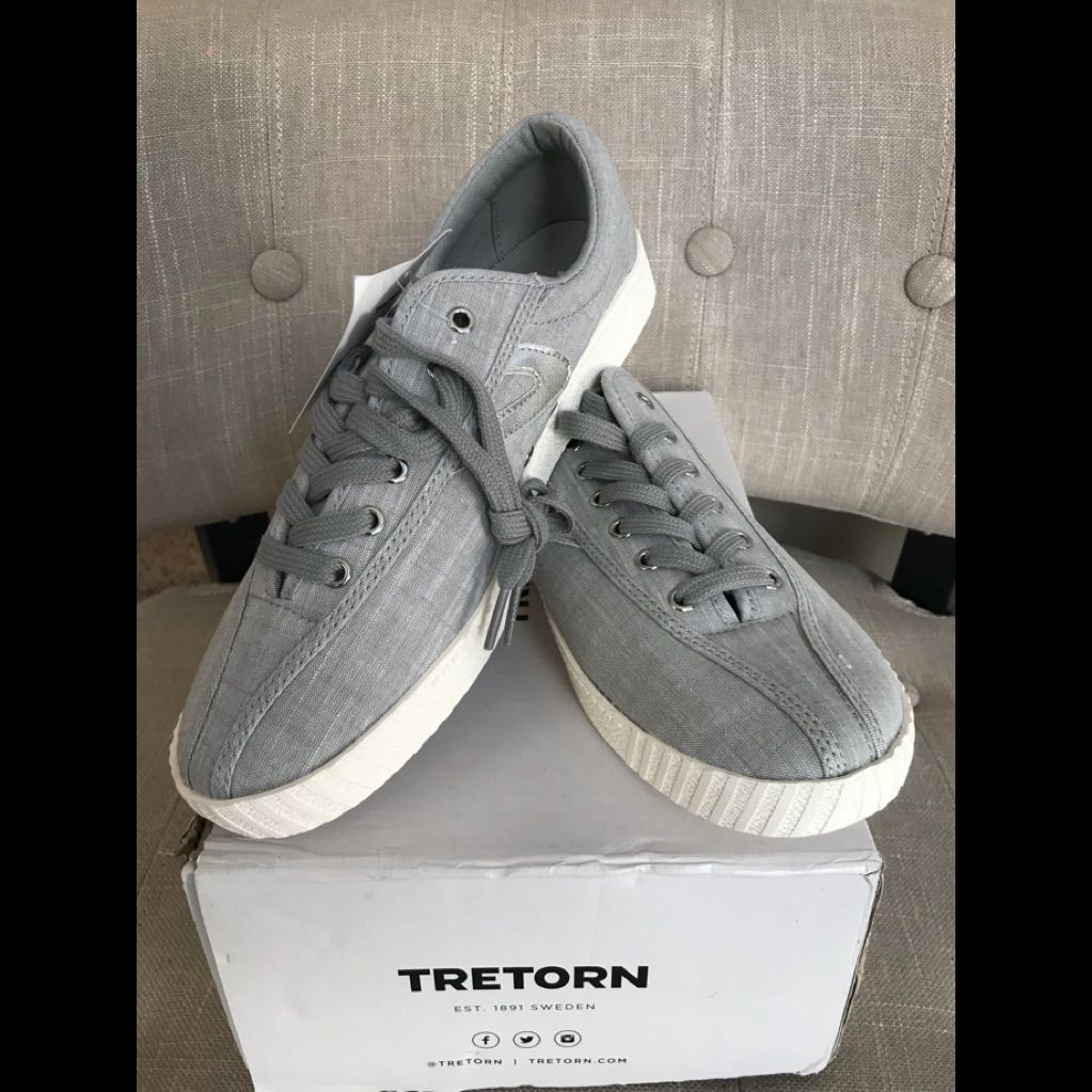 Tretorn Shoes   Nwt Tretorn Sneakers   Color: Silver   Size
