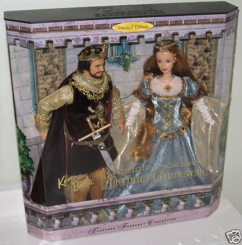 Ken and Barbie Doll As Camelot's King & Queen, « Game Searches