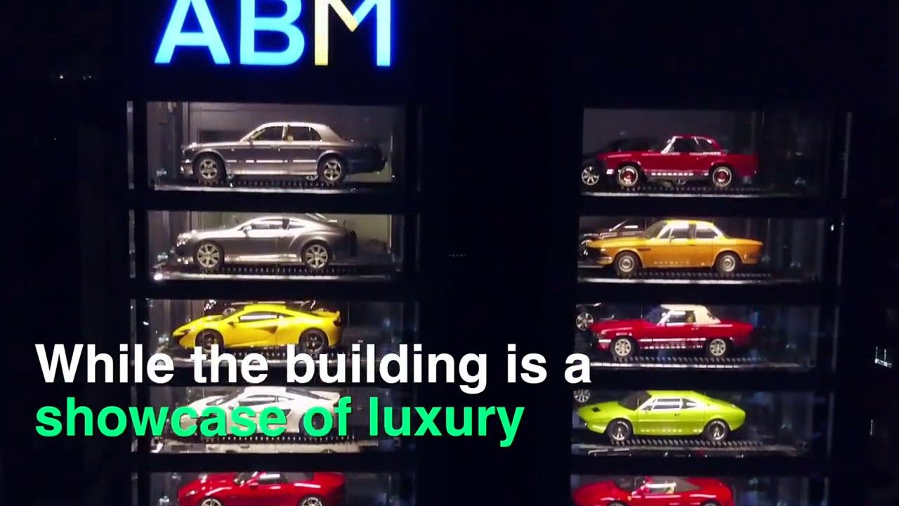 World S Largest Luxury Cars Vending Machine Vehicles Pinterest