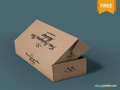 Download Free Packaging Box Mockups Free Packaging Mockup Box Mockup Packaging Mockup