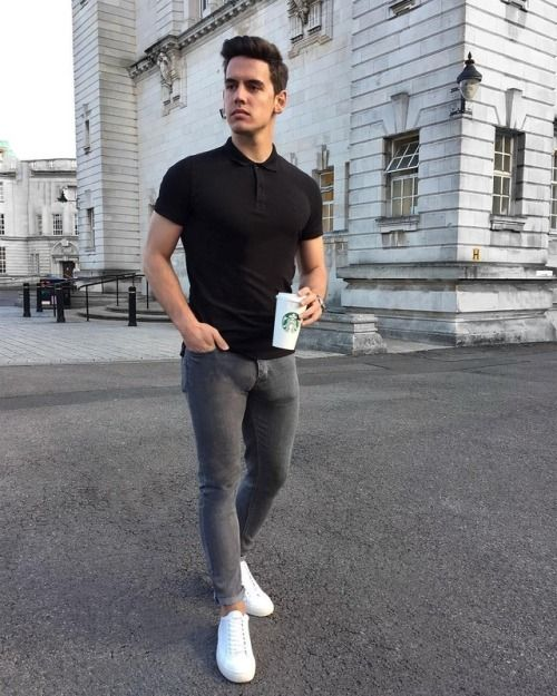 stylish look photo mens fashion mens fashion jeans men style