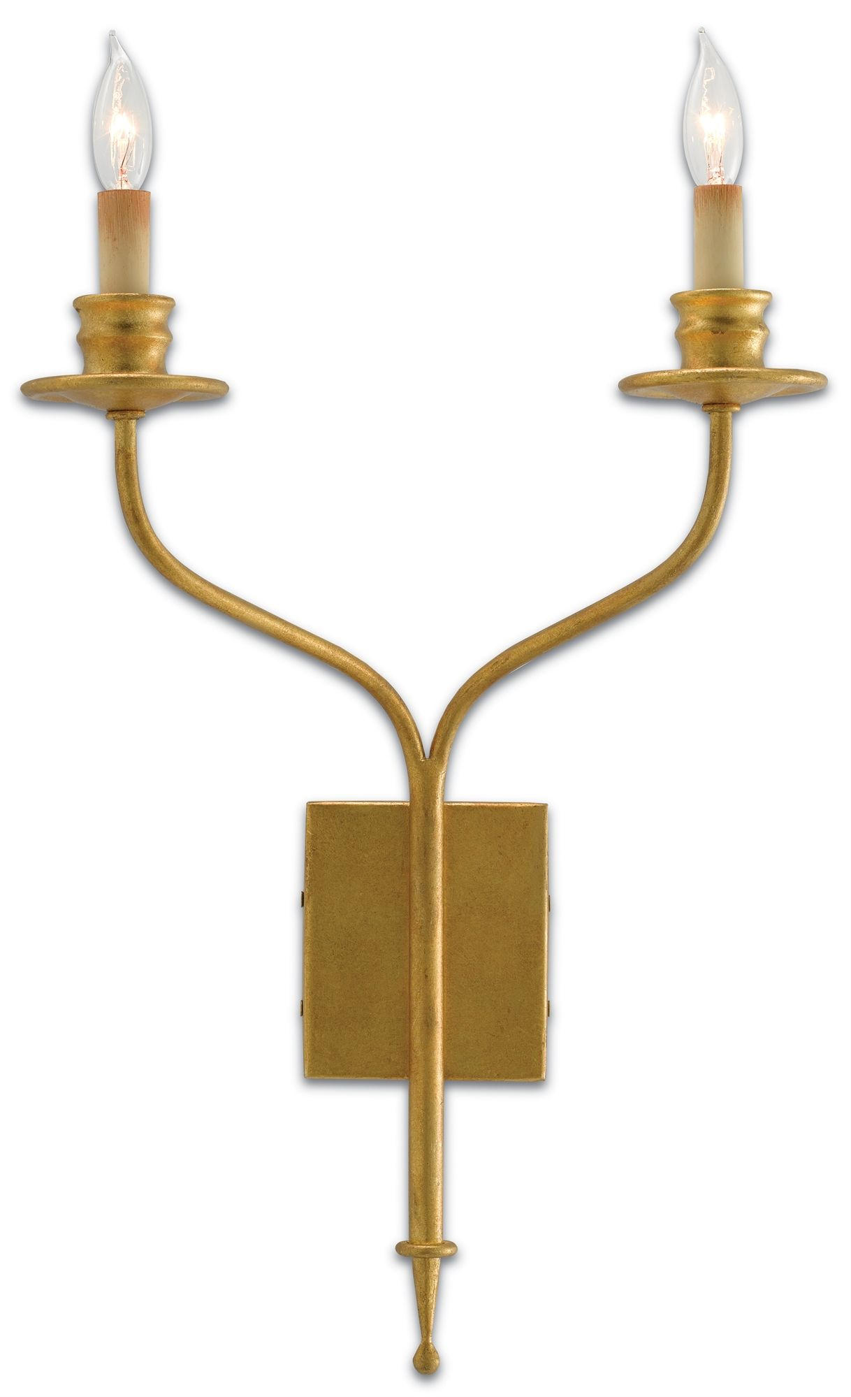 Wall Sconce In Antique Gold