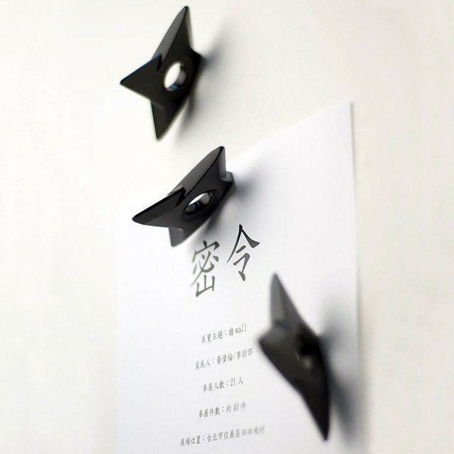 Fancy - Ninja Shuriken Magnets: