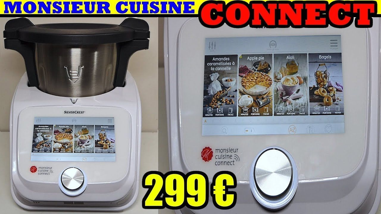 Monsieur Cuisine Connect Lidl Silvercrest Skmc 1200 A1 Tests Avis