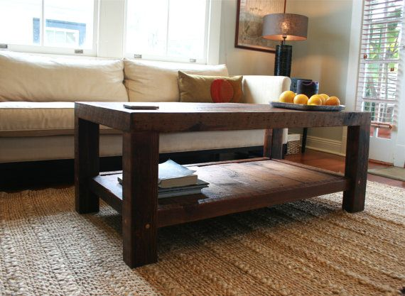 This Simple, Yet Rustically Elegant Coffee Table Was Handmade By Me Using  Wood That Once Held Together A New Orleans Home Damaged During Hurricane  Katrina.