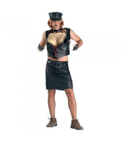 Lady Biker στολή ενηλίκων Αστείες στολές