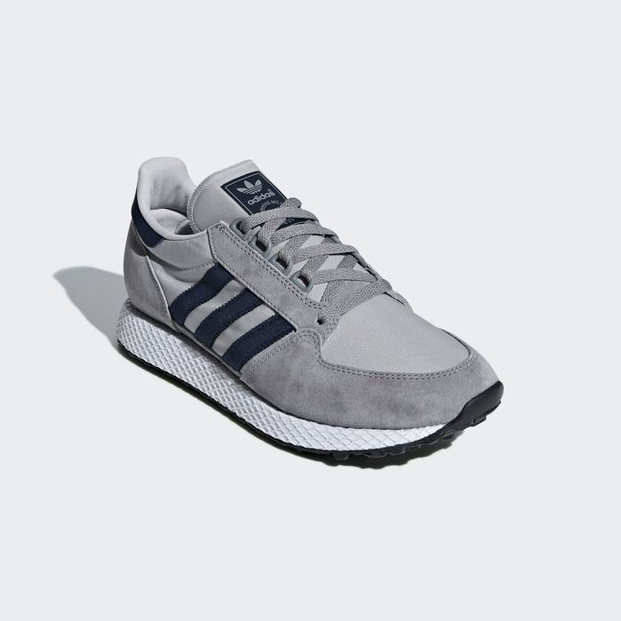 huge discount 3b7c9 1ca81 Forest Grove Shoes Grey 9.5 Mens