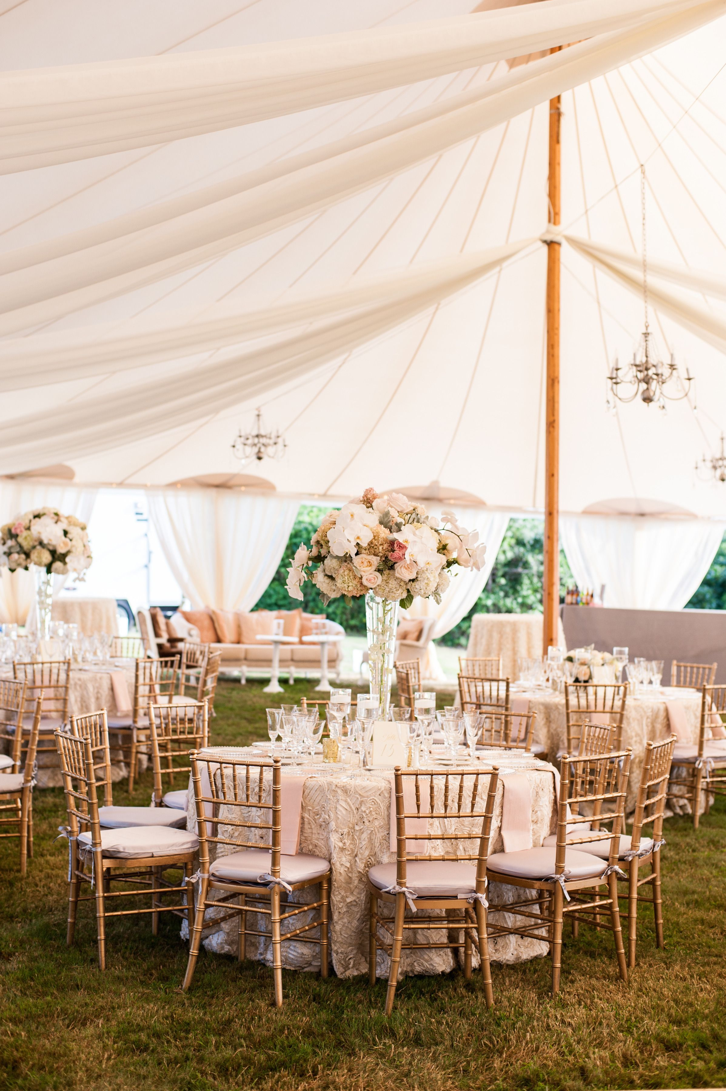 Sperry Tents Tent wedding, Wedding reception decorations