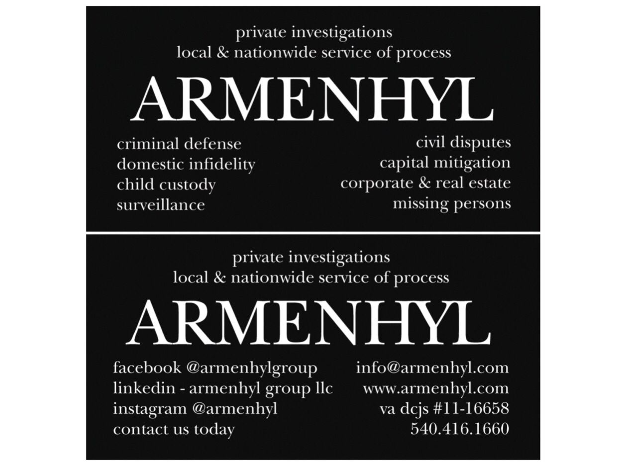 Contact Armenhyl To Discuss How We Can Assist With Your Security