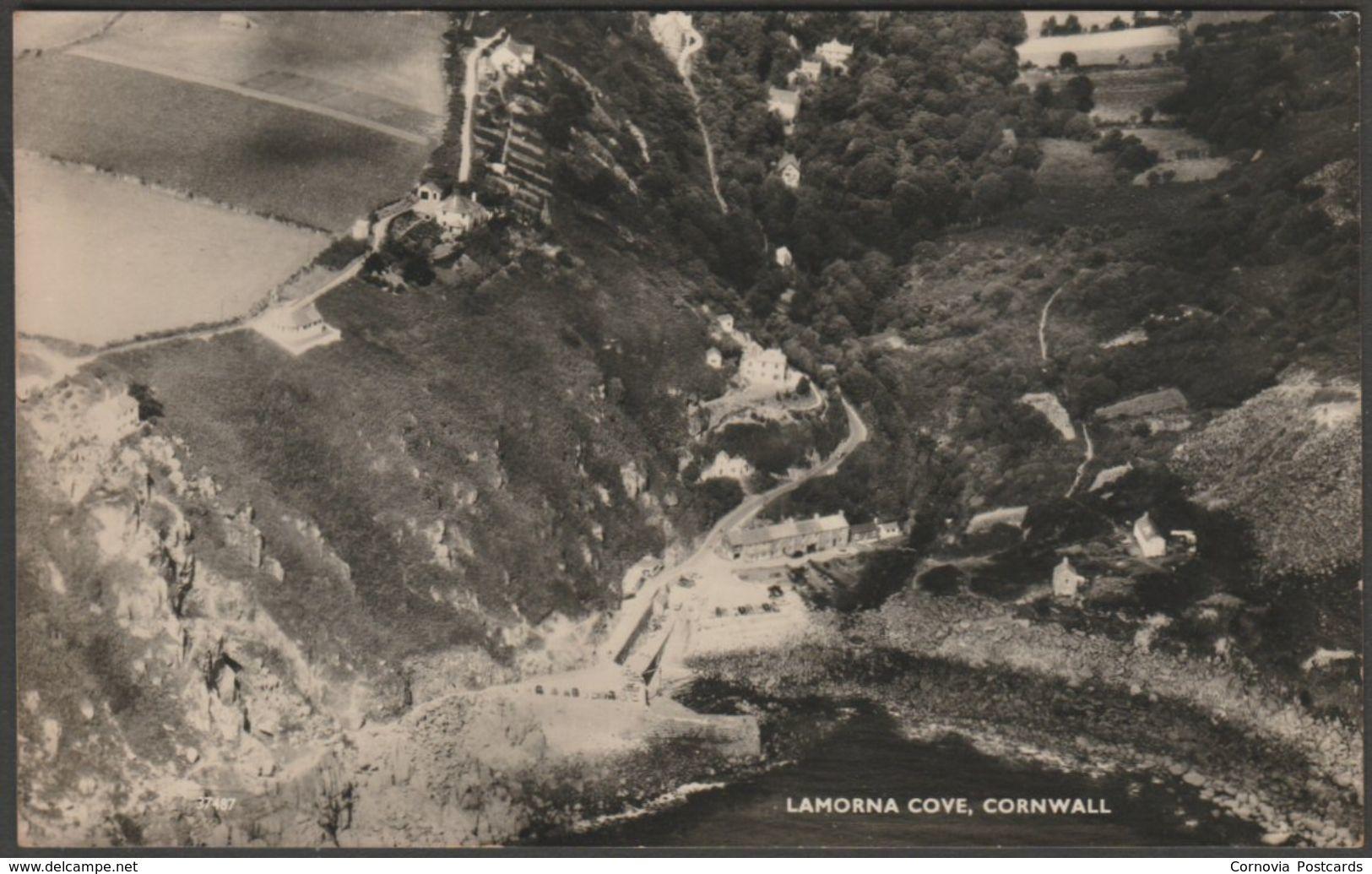 Lamorna Cove, Cornwall, c.1950 - Aero Pictorial RP Postcard