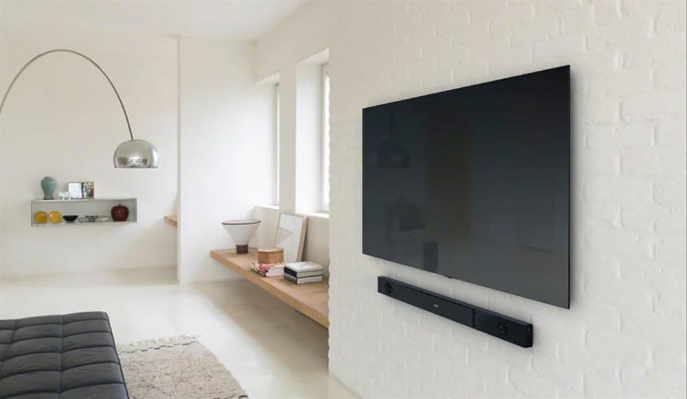 Jual Vernon Ultra Slim Sling Bracket Tv Led Universal 32 55 Di Lapak Septi Mart Septidwiput In 2020 Wall Mounted Tv Living Room Tv Wall Tv Wall