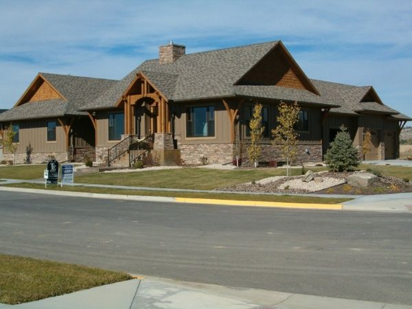 Studio 4 Architects Billings Bozeman Montana Gable Roof House Dutch Gable Roof Roof Styles