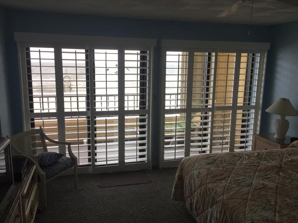 Plantation Shutters Over Sliding Glass Doors Dream House