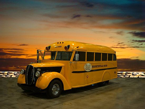"""1938 Ford School Bus """"Da Bus"""""""" by TeeMack"""
