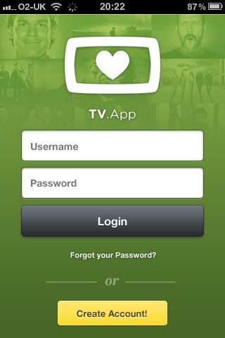 TV Show tracker app idea with glazed and pixel-perfect