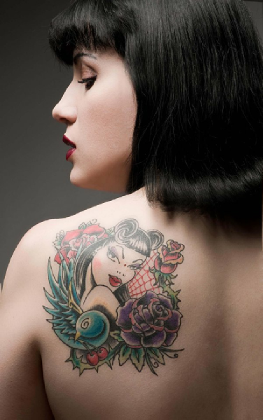 pin up | ☆inked&pierced☆ | tatouage, photo tatouage, tatouage femme