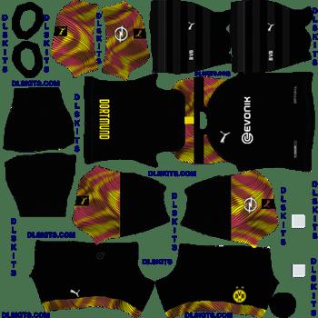 Borussia Dortmund 2020 21 Dream League Soccer Kits In 2020 Soccer Kits Borussia Dortmund Dortmund