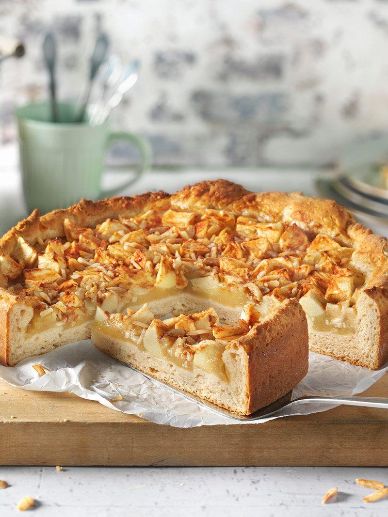 Schneller Apfelkuchen Rezept Quarkolteig Kuchen Schneller Apfelkuchen Apfelkuchen Mit Quark