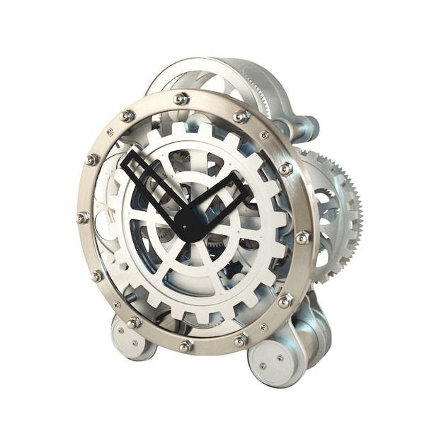 Mechanical Wonder Mantel Clock Gear Clock Clock Steampunk Clock
