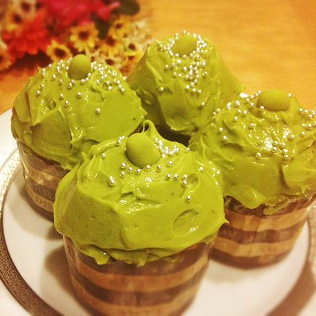 recipe: easy green tea cupcakes [11]