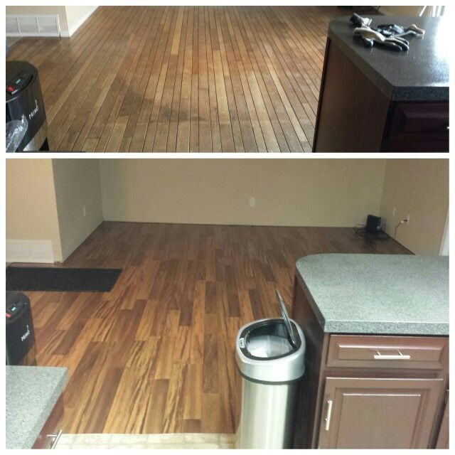 Living Room Flooring Replacement