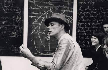 Beuys teaching