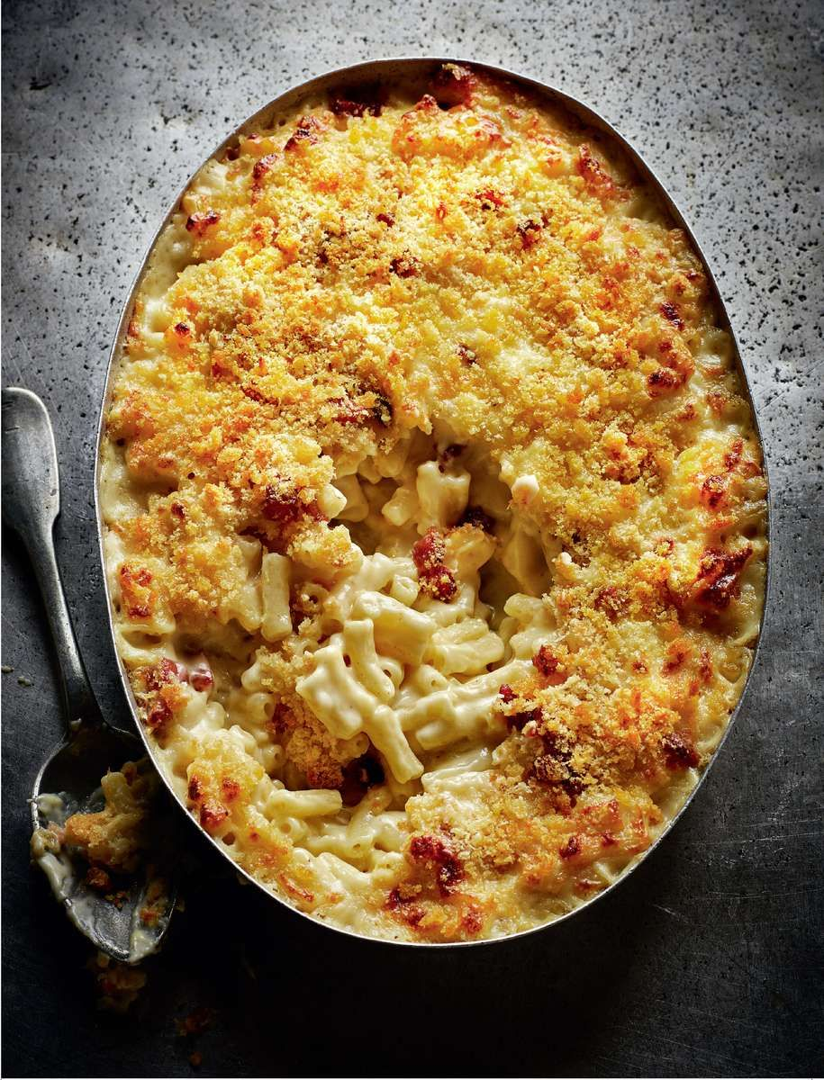 Macaroni Cheese With Smoky Bacon Recipe Food Recipes Macaroni